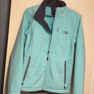 Teal Women's North Face Jacket